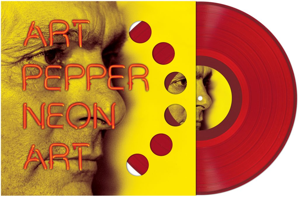 Art Pepper - Neon Art Post