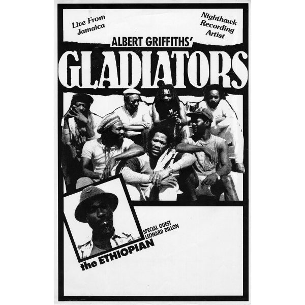 Gladiators - Vintage Tour Poster