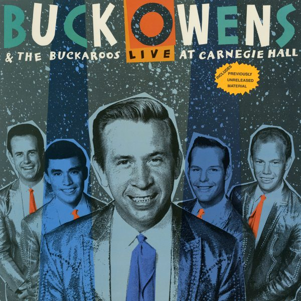 Buck Owens - Live At Carnegie Hall Reissue Vintage Vinyl