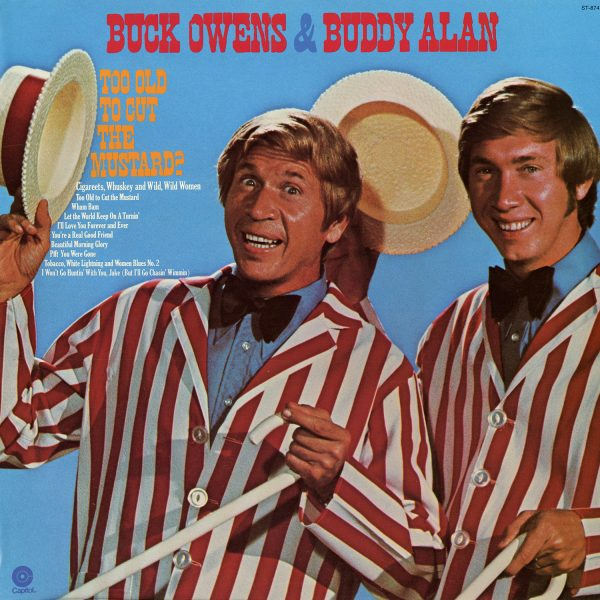 Buck Owens & Buddy Alan - Too Old To Cut The Mustard Vintage Vinyl