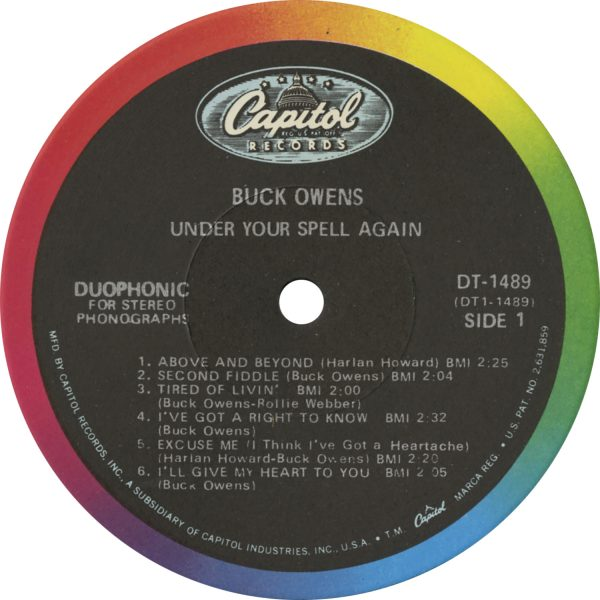 Buck Owens - Under Your Spell Again