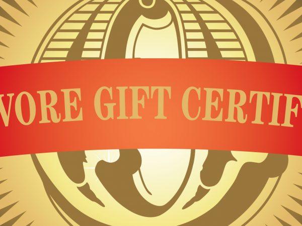 Omnivore Gift Certificate - News Item