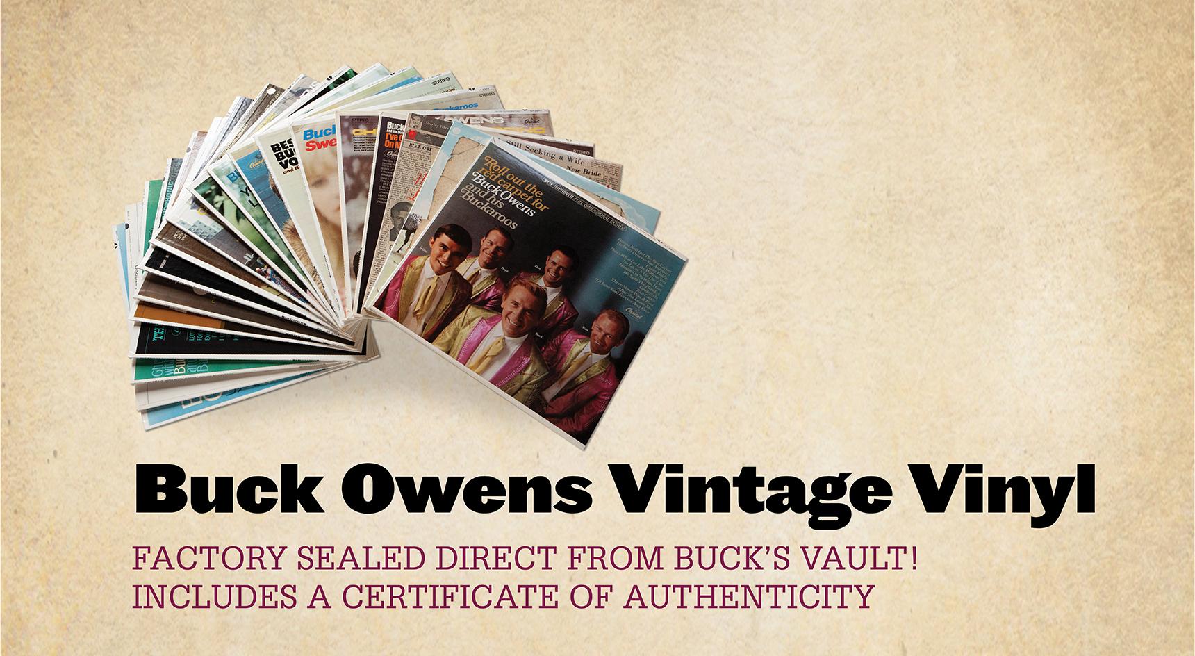 Buck Owens Vintage Vinyl Home Page News