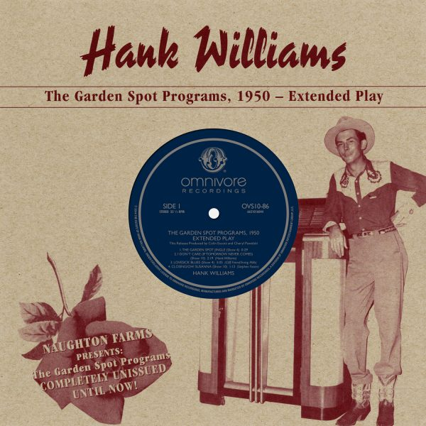 Hank Williams - The Garden Spot Programs, 1950 - Extended Play