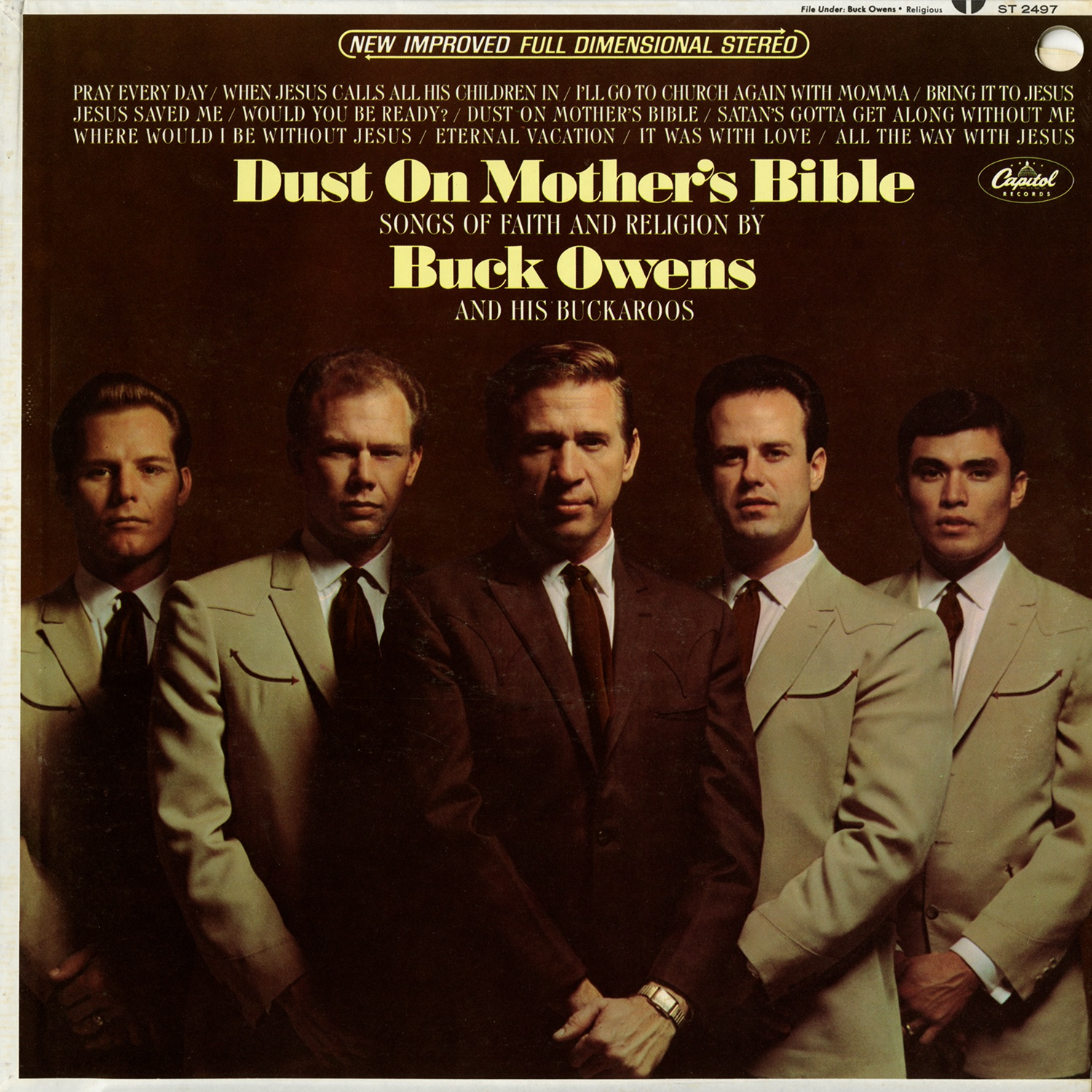 Buck Owens — Dust On Mother's Bible: Songs Of Faith And