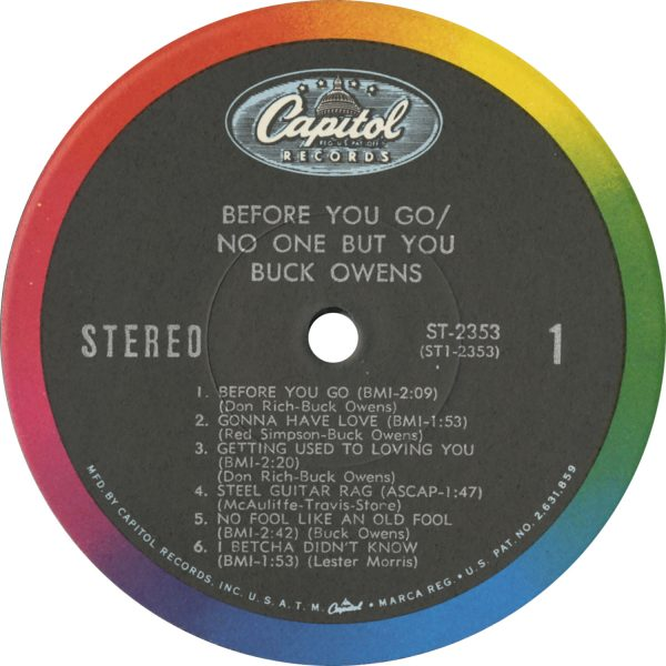 Buck Owens Vintage - Before You Go