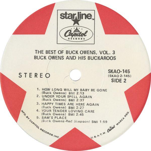 Buck Owens Vintage - Best Of Buck Owens 3