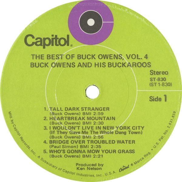 Buck Owens Vintage - Best Of Buck Owens 4