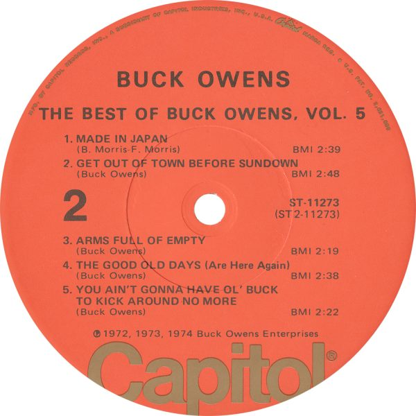Buck Owens Vintage - Best Of Buck Owens 5