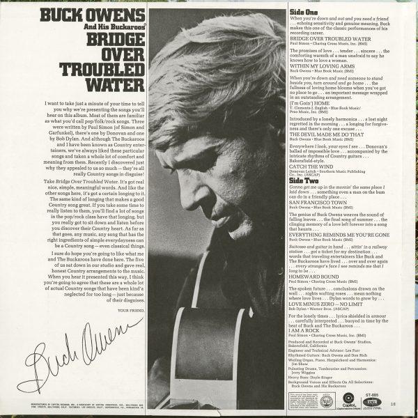 Buck Owens Vintage - Bridge Over Troubled Water