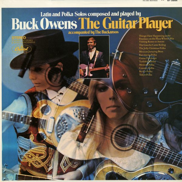 Buck Owens - The Guitar Player Vintage Vinyl
