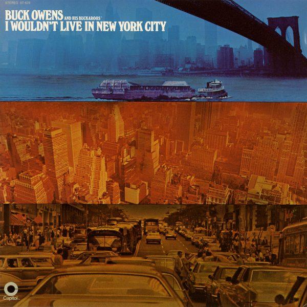Buck Owens - I Wound't Live In New York Vintage Vinyl