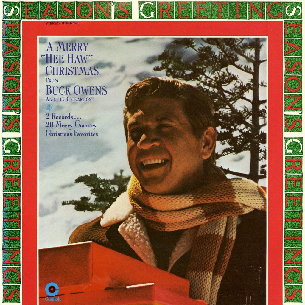 Buck Owens - A Merry Hee Haw Christmas Vintage Vinyl