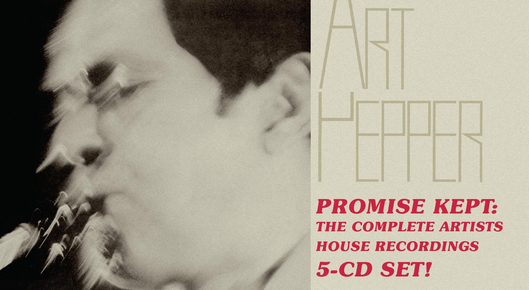 Art Pepper - Promise Kept News