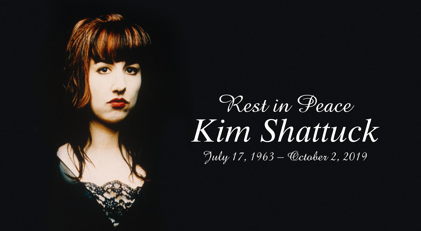 RIP Kim Shattuck